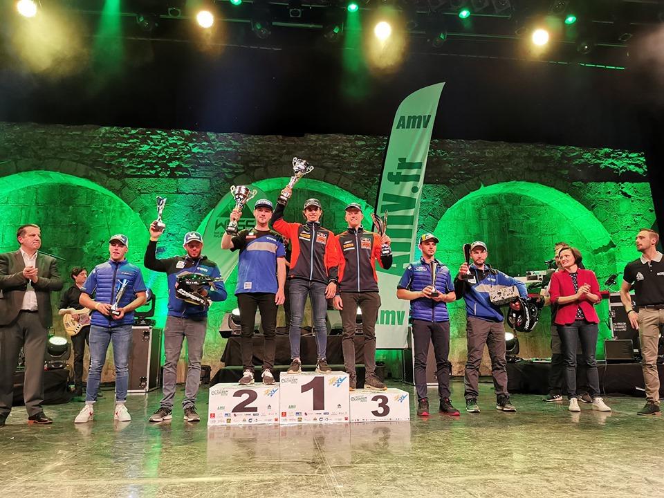 Podium Trèfle Lozérien AMV 2019