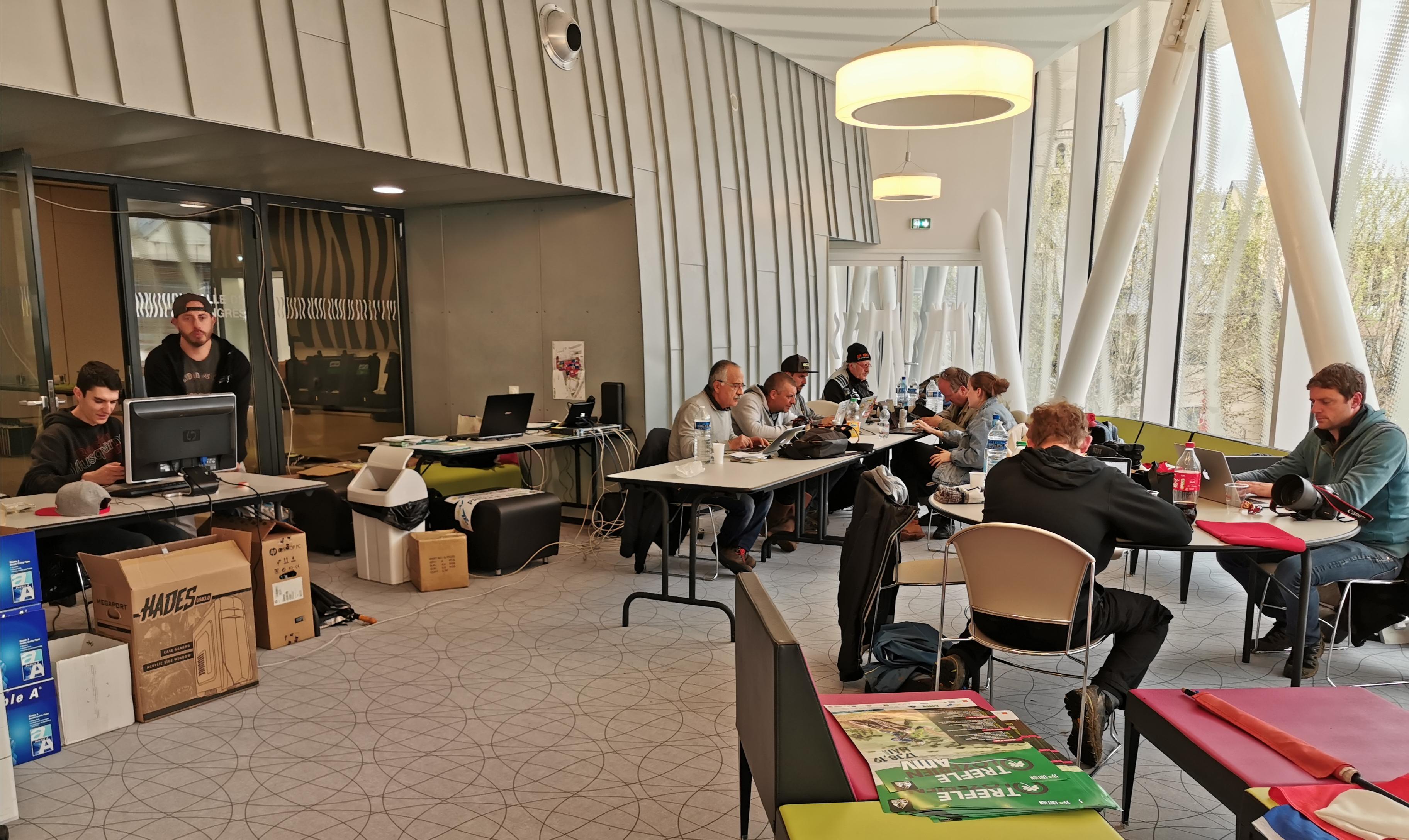 Press room Trèfle Lozérien AMV