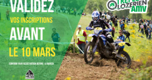 Validez vos inscriptions pour le Trèfle Lozérien AMV avant le 10 mars 2019